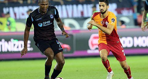 Trabzonspor, gol oldu Galatasaray'a yağdı İşte maçın capsleri, özeti ve golleri