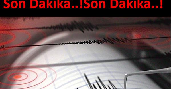 Korkutan Deprem..!