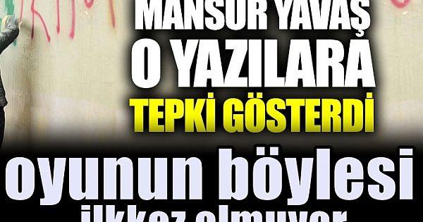 Mansur Yavaş'tan o yazılara tepki