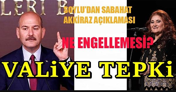 Sabahat Akkiraz konserinin yasaklanmasıyla ilgili flaş iddia