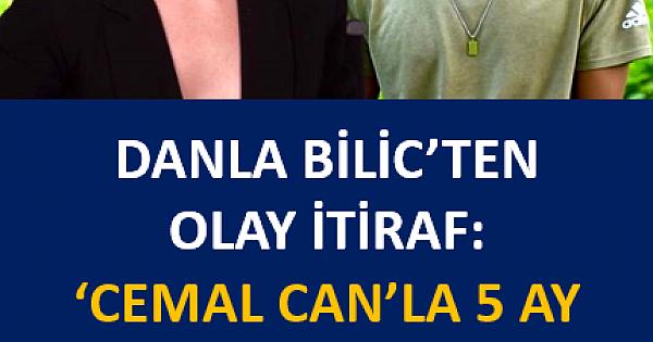 Fenomen Danla Bilic'ten bomba itiraf: Cemal Can'la 5 ay evli kaldık, ihanet yüzünden bitti