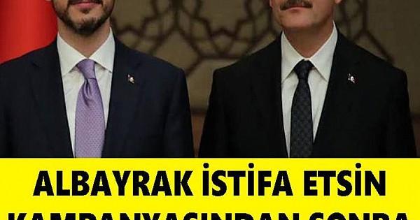 Albayrak İstifa Etsin Kampanyasından Sonra Süleyman Soylu'dan Flaş Paylaşım Geldi!