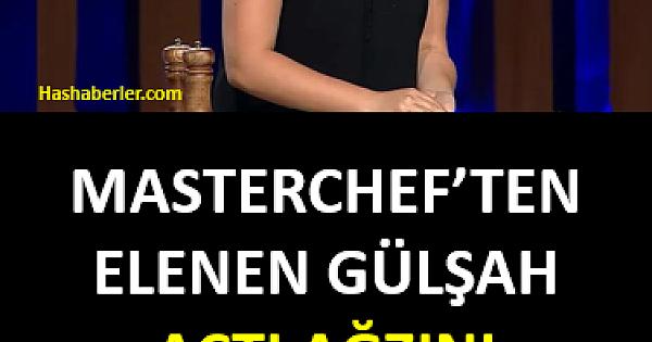 TV8 MasterChef Türkiye'den elenen Gülşah Suna açtı ağzını yumdu gözünü!.
