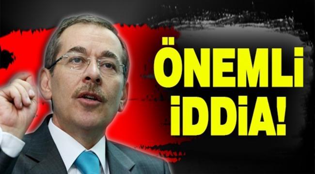 Abdüllatif Şener'den uçakla ilgili flaş iddia