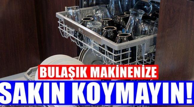 Bulaşık Makinesinde Asla yıkanılmaması Gereken 8 Şey