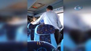 Yolcu otobüsü yolda kalınca biletli yolculardan mazot parası istendi