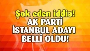 Hürriyet Gazetesi AKP'nin istanbul adayını duyurdu