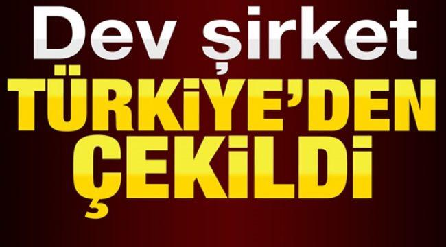 Mağazalarını kapatıp Türkiye faaliyetini sonlandırıyor