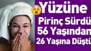 Genç Kadın Yüzüne Pirinç Sürdükten Sonra Tanınmaz Hale Geldi