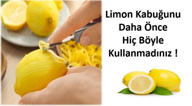 Limonun Birbirinden Farklı Kullanım Alanları