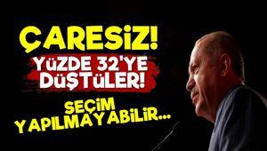 'AKP Çaresiz.. Yüzde 32'ye Düştüler'