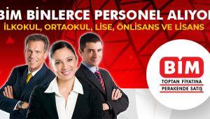 BİM Türkiye Geneli Personel Alımı Yapacak! İlkokul, Ortaokul, Lise, Üniversite