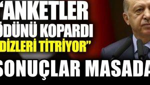 """Erdoğan'a Sert sözler: """"Anketler ödünü kopardı dizleri titriyor"""""""