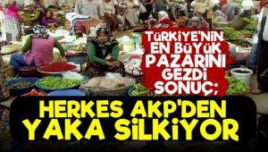 'Halk AKP'den Yaka Silkiyor'