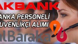 İki Farklı Bankaya Gişe Görevlisi, Büro Memuru, Güvenlikçi Banka Personeli Alınacak!