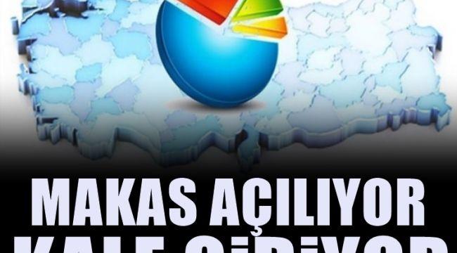 İşte AKP'nin önündeki son anket