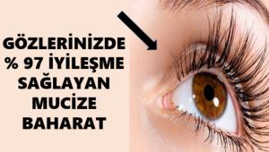 Gözlerinizde %97 Oranında İyileşme Sağlayan Mükemmel Baharat