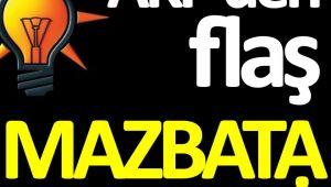 AK Parti'nin Mazbata İle İlgili Talebi