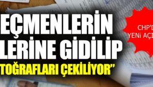 CHP'den şok açıklama :