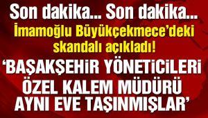 Ekrem İmamoğlu'dan Büyükçekmece ile ilgili flaş açıklama!