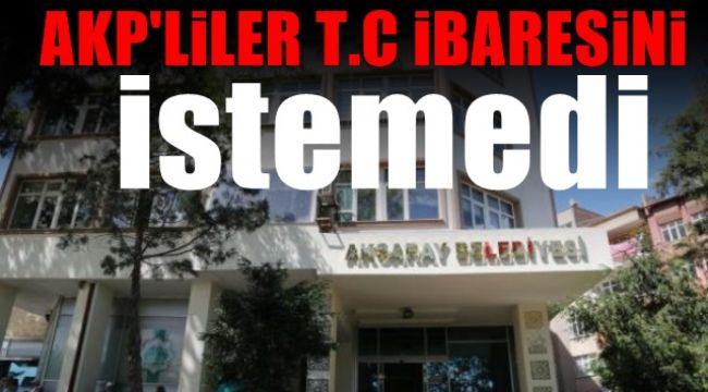 Cumhur İttifakı'nda T.C. krizi ! MHP istedi, AK Parti reddetti