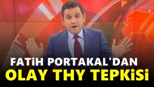 Fatih Portakal THY'de yaşanan 'akılalmaz' olayı anlattı