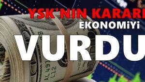 'YSK kararının Türkiye'ye maliyeti 45 milyar TL'