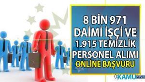 İŞKUR bayram sonrası vasıflı vasıfsız 10 bin 886 daimi işçi ve temizlik personeli alımı online iş başvurusu