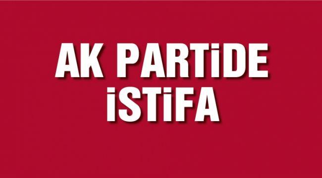 AKP'de bir istifa haberi daha!