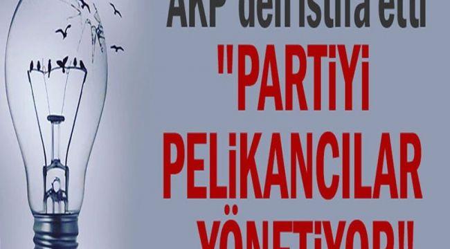 AKP'den istifa etti: Partiyi pelikancılar yönetiyor