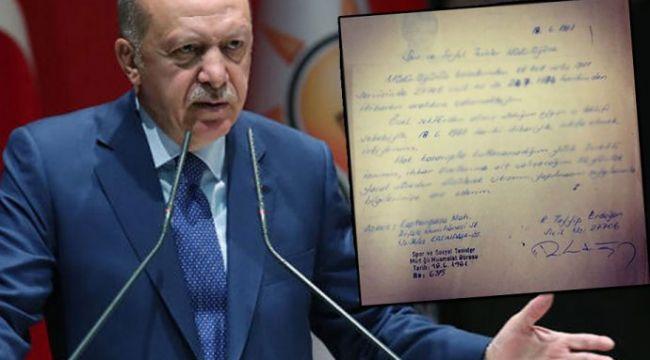 Erdoğan 'Sakal için istifa ettim' demişti: Gerçek, istifa dilekçesinde ortaya çıktı!