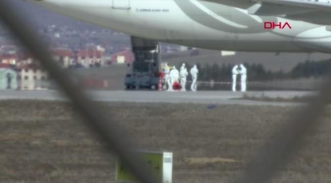 Ankara'da Tahran'dan gelen uçakta corona virüsü alarmı