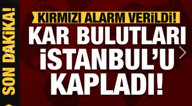 Kar bulutları İstanbul'u kapladı! İşte okulların tatil edildiği şehirler