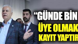 """Koray Aydın: """"Günde bin kişi kayıt yaptırıyor"""""""