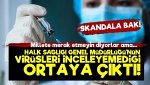 'Türkiye Virüsleri İnceleyemiyor'