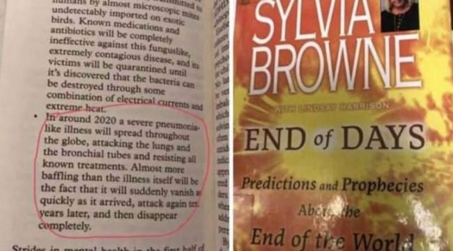 12 yıllık kehanet! End of Days adlı kitap koronavirüsü öngörmüş olabilir mi?