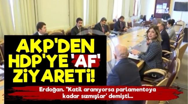 AKP'den HDP'ye 'AF' Ziyareti!