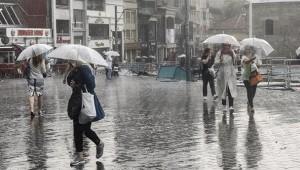 İstanbul'a yağmur geliyor: Hava sıcaklığı düşecek