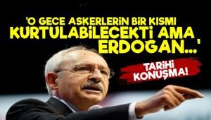 Kılıçdaroğlu'ndan Tarihi Konuşma!