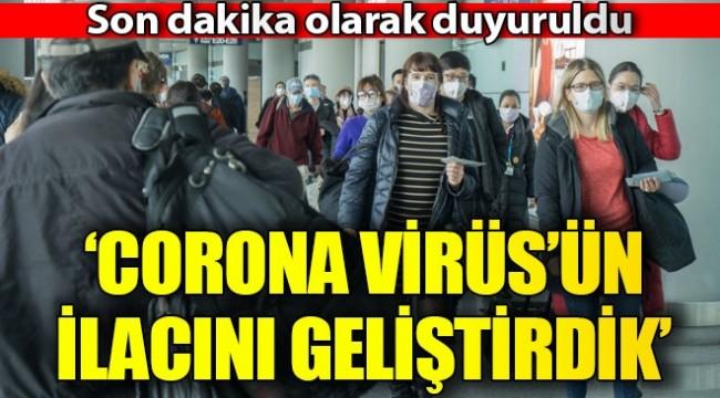 Rusya açıkladı! Corona virüsün ilacını geliştirdik