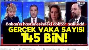 Türkiye'de Gerçek Vaka Sayısı 145 Bin!