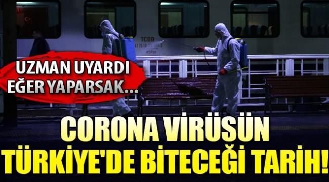 Uzman corona salgınının kontrol altına alınacağı tarihi açıkladı