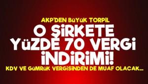 AKP'den Büyük Torpil! Yüzde 70 Vergi İndirimi...
