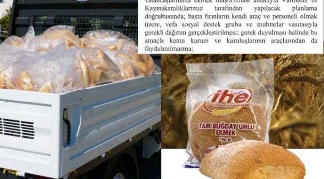 CHP'li belediyelerin ekmek dağıtımına yasak