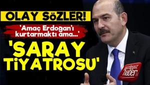 'Soylu, Erdoğan'ı Kurtarmak İstedi Ama...'