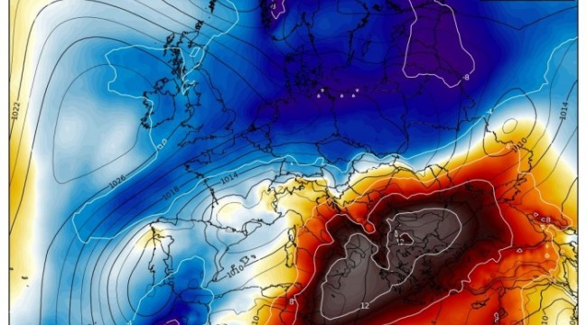 Extreme heatwave with peak temperatures close to +40 °C over south Greece and Turkey this weekend!