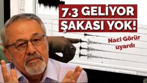 '7.3 deprem geliyor, şakası yok'