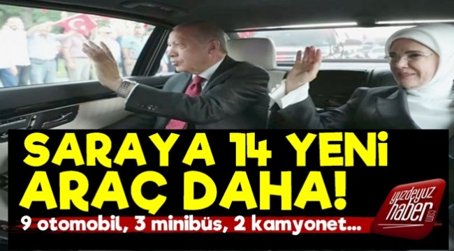 Cumhurbaşkanlığı'na 14 Yeni Araç Daha!