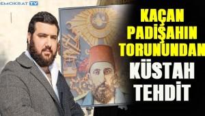 Osmanoğlu: Biz geri dönersek siz deliye dönersiniz