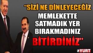 AKP'li vekile kendi köylülerinden sert tepki